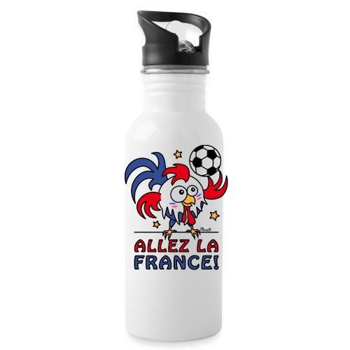Gourde, Coq Gaulois Foot Allez La France - Gourde