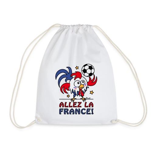Sac de Sport Coq Gaulois Foot Allez La France - Sac de sport léger