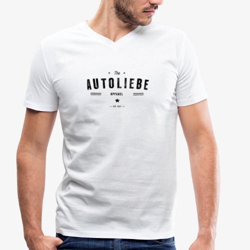 Autoliebe - Männer Bio-T-Shirt mit V-Ausschnitt von Stanley & Stella