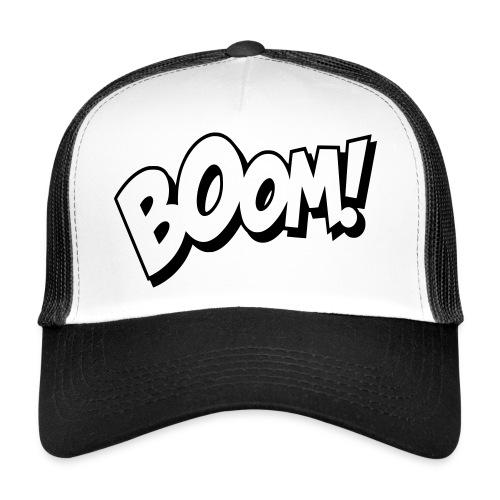 Baseball Cap Boom ! - Trucker Cap