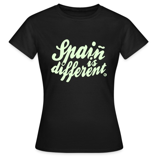 Spaiñ is different - Women's T-Shirt