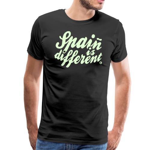 Spaiñ is different - Men's Premium T-Shirt