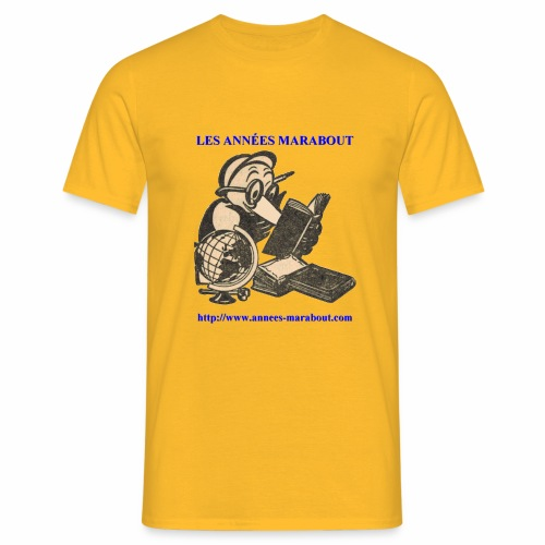 Chercheur Années Marabout - T-shirt Homme