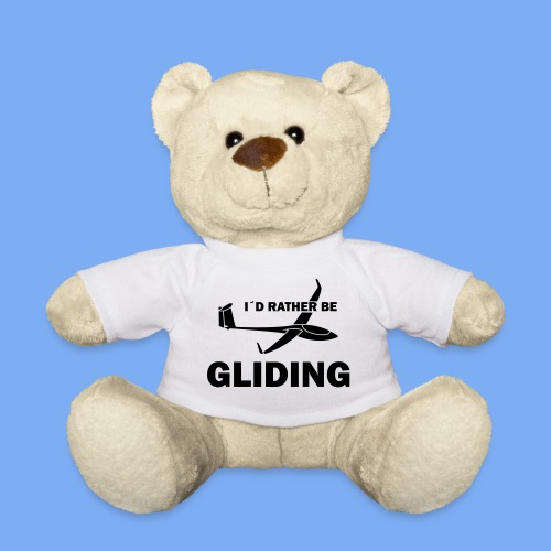 glider pilot -i´d rather be gliding - Teddy Bear