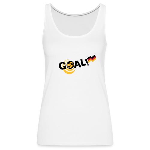 Goal - Deutschland - Frauen Premium Tank Top