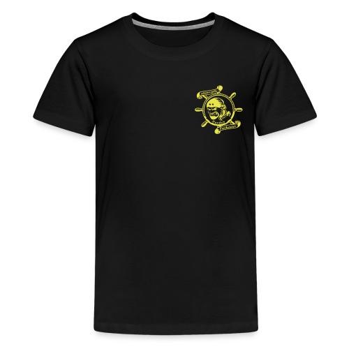 Teenager Premium T-Shirt mit Logo auf der Brust - Teenager Premium T-Shirt