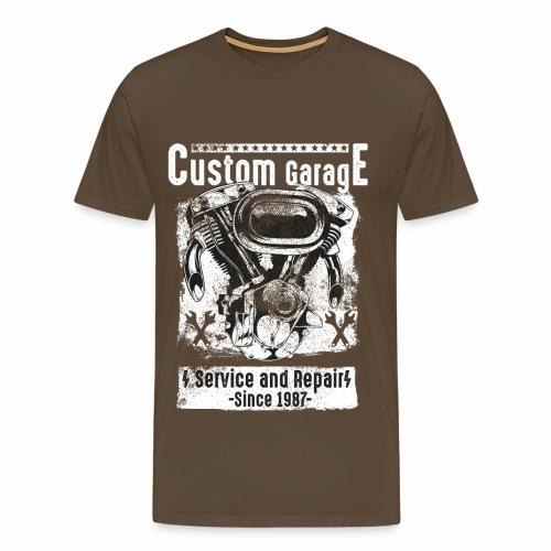 Custom Garage - Männer Premium T-Shirt