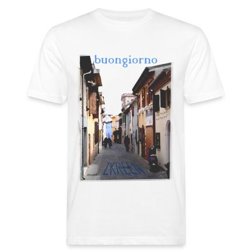 nur online ZKREEN Rimini paint #1 - Men's Organic T-Shirt