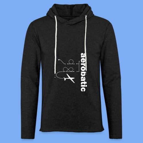 aerobatic glider pilot Segelkunstflug - Light Unisex Sweatshirt Hoodie