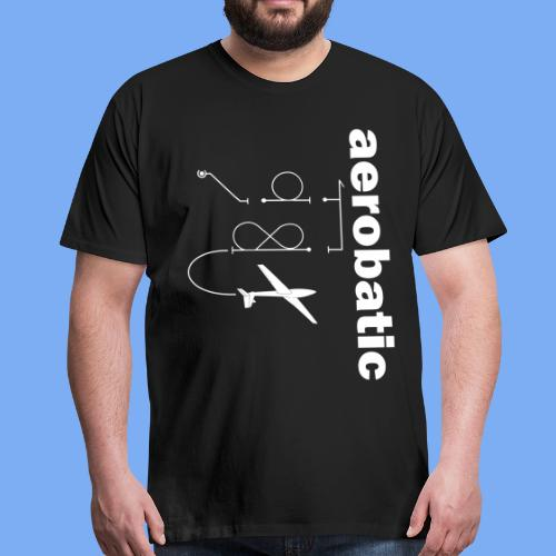 aerobatic glider pilot Segelkunstflug - Men's Premium T-Shirt