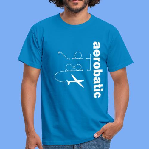 aerobatic glider pilot Segelkunstflug - Men's T-Shirt