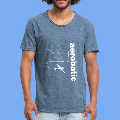 aerobatic glider pilot Segelkunstflug - Men's Vintage T-Shirt