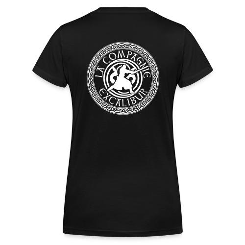 T-shirt F XK - T-shirt bio col V Stanley & Stella Femme