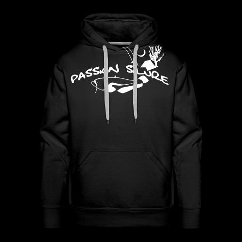 PS Hoodie- weißer Aufdruck - Männer Premium Hoodie