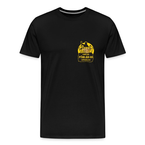 Pöhler 09 Gütersloh NEU kleines Logo - Premium Shirt - Männer Premium T-Shirt