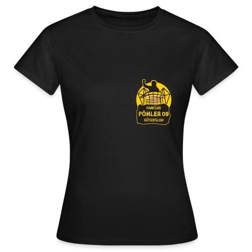 Pöhler 09 Gütersloh NEU kleines Logo - Damen Shirt - Frauen T-Shirt