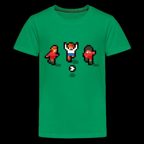Pixelmeister Portugal - Teenage Premium T-Shirt