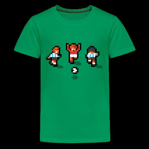 Pixelmeister Argentina - Teenage Premium T-Shirt