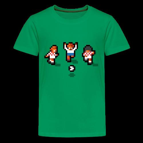 Pixelmeister Croatia - Teenage Premium T-Shirt