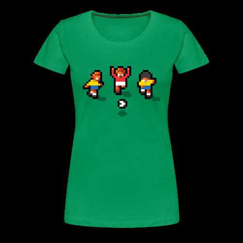 Pixelmeister Brazil - Women's Premium T-Shirt