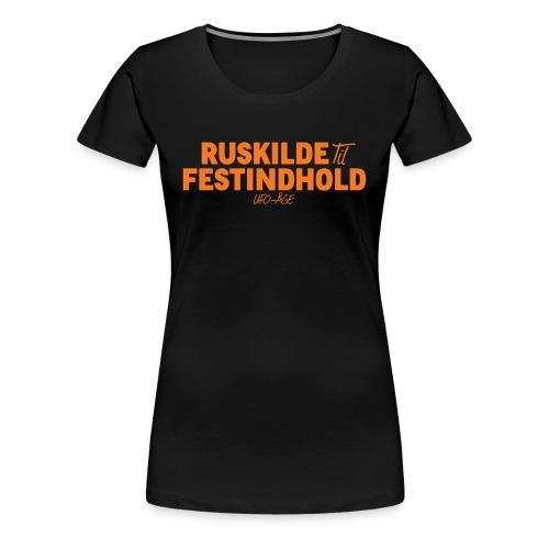 Ruskilde Dame - Dame premium T-shirt