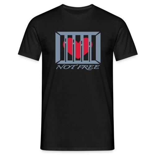 Behind Bars - T-skjorte for menn