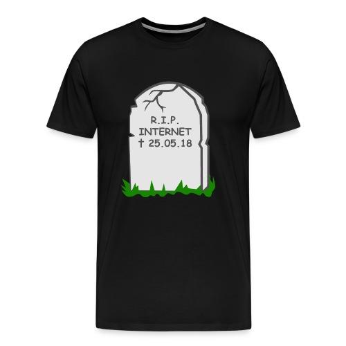 Ruhe in Frieden - Internet - Männer Premium T-Shirt