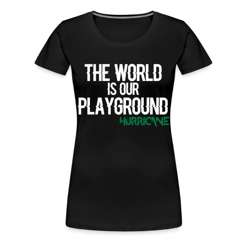 TWIOP - Girl Vert - T-shirt Premium Femme