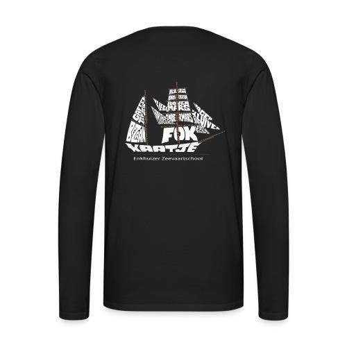 Mannen Lange Mouwen - Mannen Premium shirt met lange mouwen