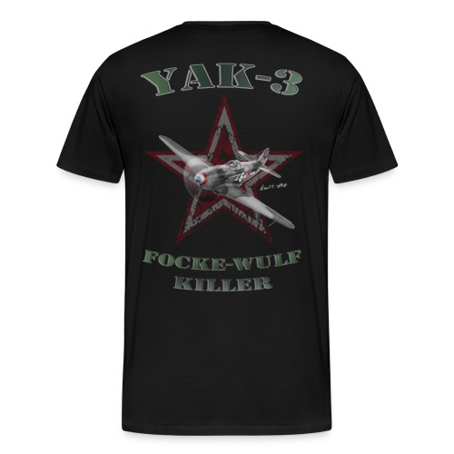 Tee Shirt YAK3 noir - T-shirt Premium Homme