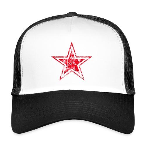 Casquette Etoile rouge - Trucker Cap