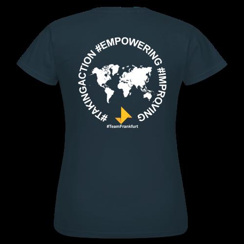 Frauen T-Shirt (mit Druck auf Rückseite) - Frauen T-Shirt