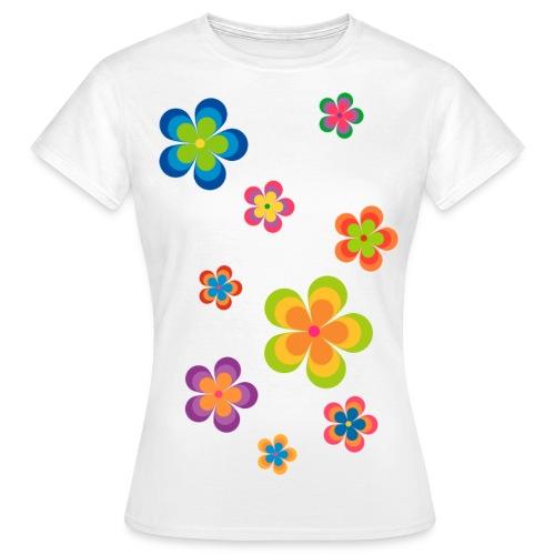 limited edition 03 flowerpower - Frauen T-Shirt