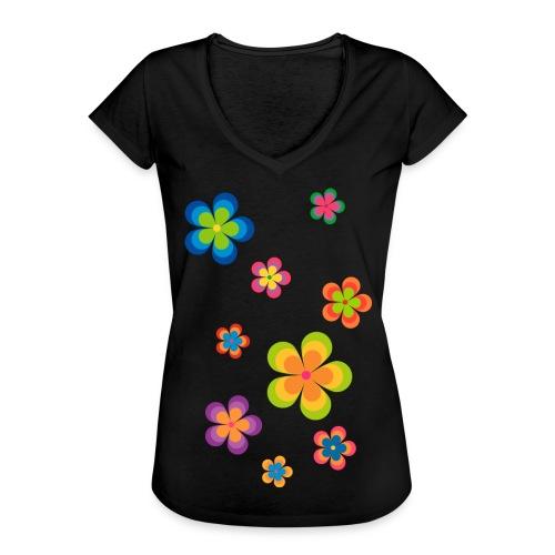 limited edition 03 flowerpower - Frauen Vintage T-Shirt