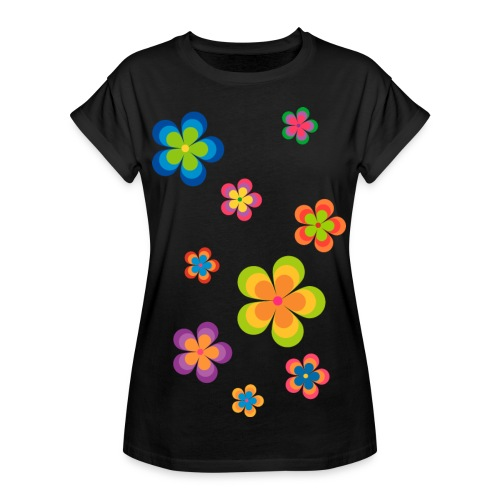 limited edition 03 flowerpower - Frauen Oversize T-Shirt