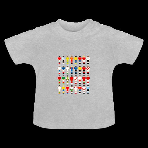 Pixelart Football-Teams - Baby T-Shirt