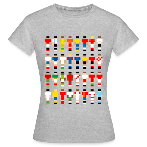 Pixelart Football-Teams - Women's T-Shirt