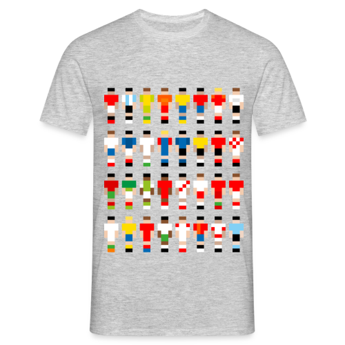 Pixelart Football-Teams - Men's T-Shirt