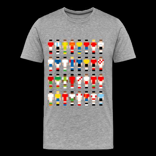 Pixelart Football-Teams - Men's Premium T-Shirt