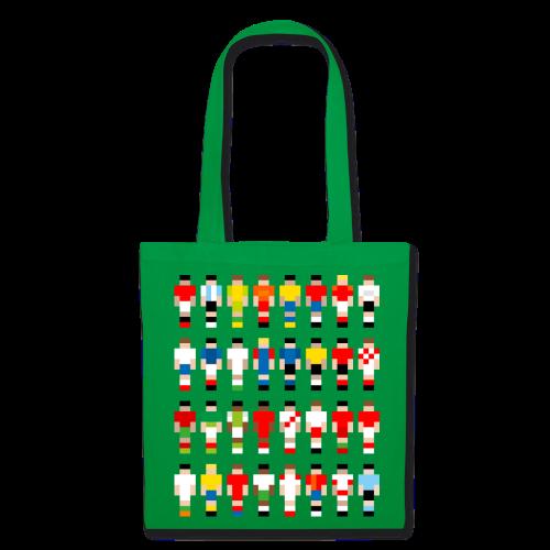 Pixelart Football-Teams - Tote Bag