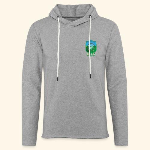 Minwamon hoodie, tunn - Lätt luvtröja unisex