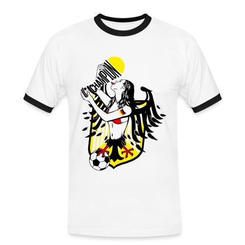 FANshirt - Männer Kontrast-T-Shirt