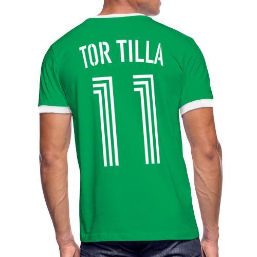 TOR TILLA 11 - Männer Kontrast-T-Shirt