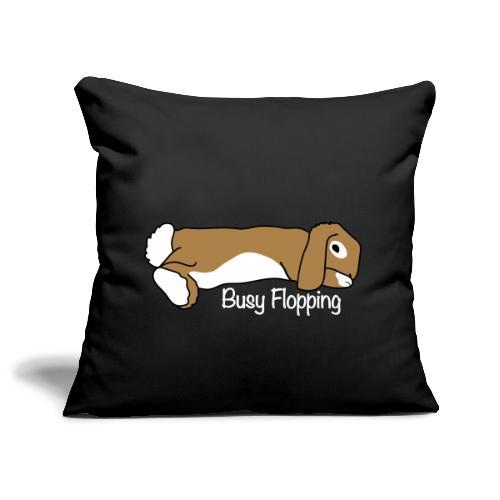Busy Flopping - Soffkuddsöverdrag, 45 x 45 cm