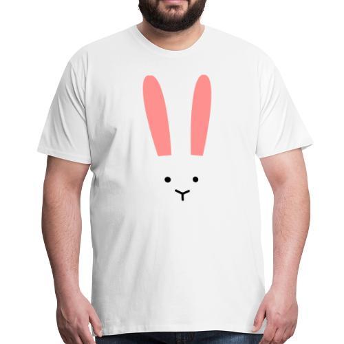 Secret Bunny - Premium-T-shirt herr