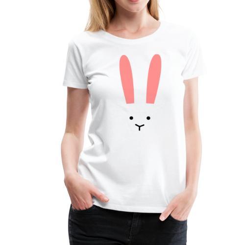 Secret Bunny - Premium-T-shirt dam