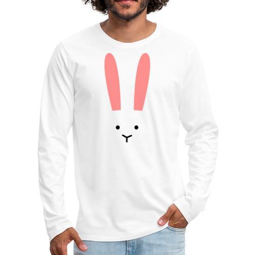 Secret Bunny - Långärmad premium-T-shirt herr