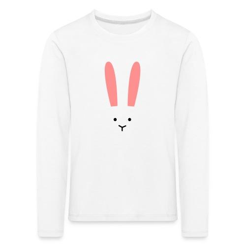 Secret Bunny - Långärmad premium-T-shirt barn