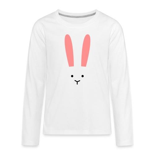 Secret Bunny - Långärmad premium T-shirt tonåring