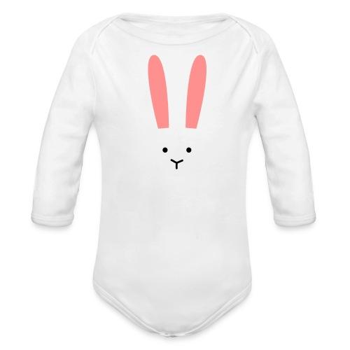 Secret Bunny - Ekologisk långärmad babybody